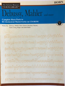 Debussy, Mahler and More: The Orchestra Musician's CD-ROM Library, Vol. II - Scattando Verkleedhuis