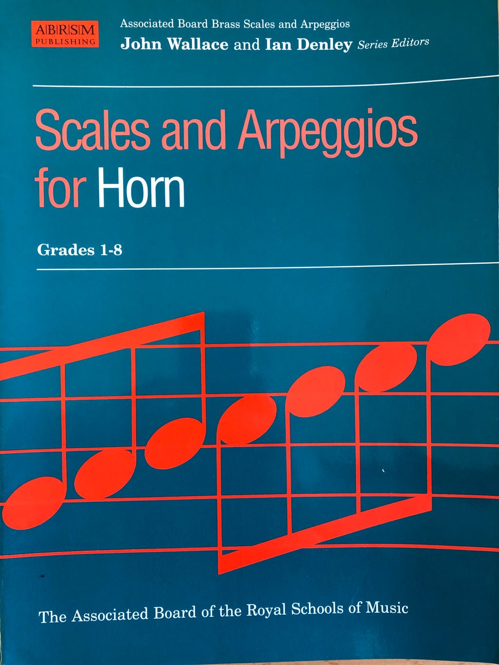 Scales and Arpeggios for Horn, Grades 1-8 - Scattando Verkleedhuis