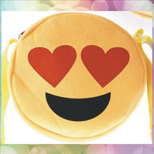 Schoudertasje Emoticon Love - Scattando Webshop