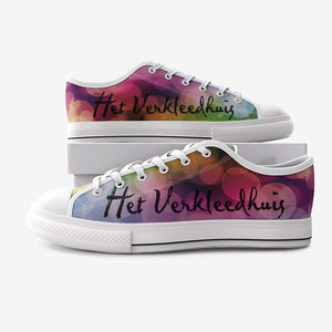 Het Verkleedhuis Fan Unisex Low Top Canvas Shoes - Scattando Verkleedhuis
