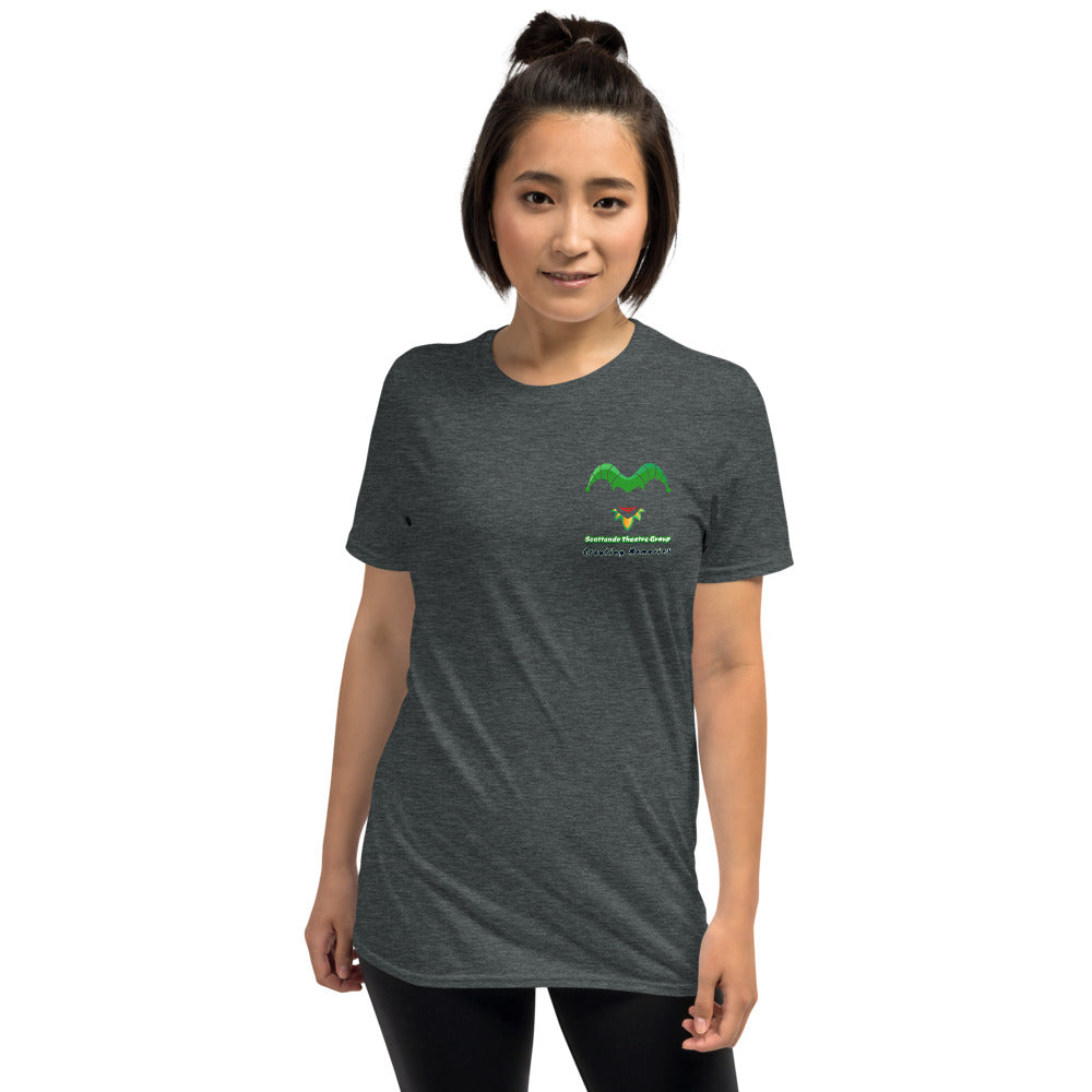 Scattando Theatre Group Fan Short-Sleeve Unisex T-Shirt - Scattando Verkleedhuis