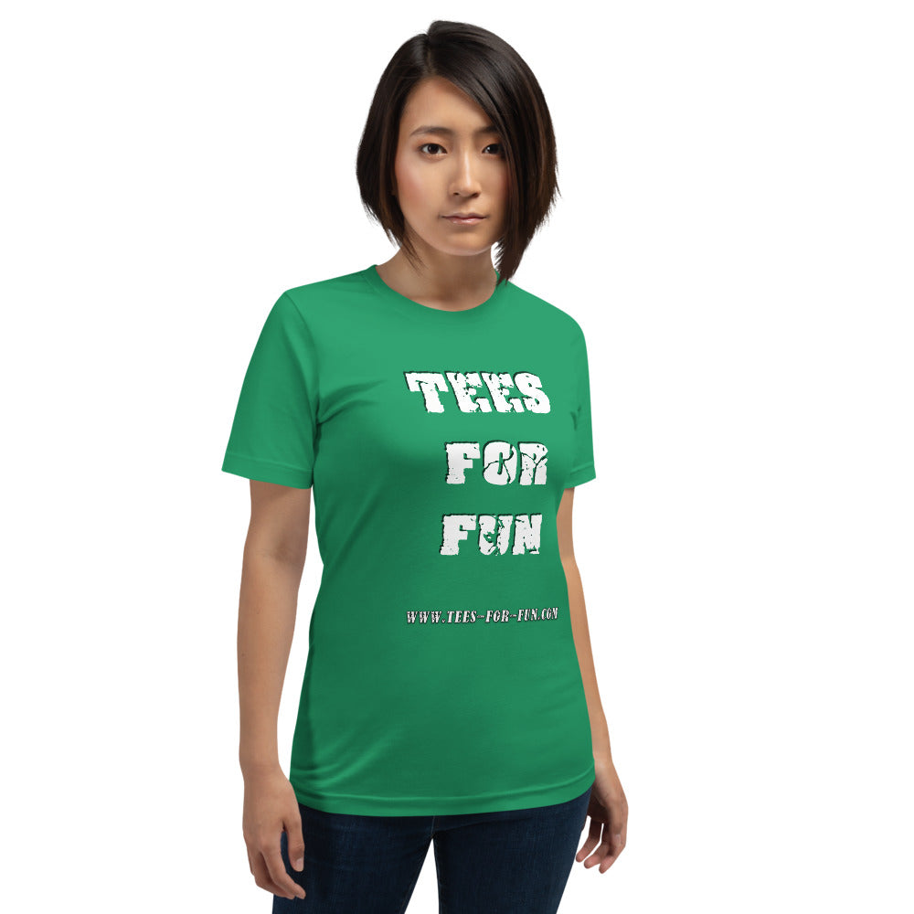 Tees for Fun Fan and Promo Short-Sleeve Unisex T-Shirt - Scattando Verkleedhuis