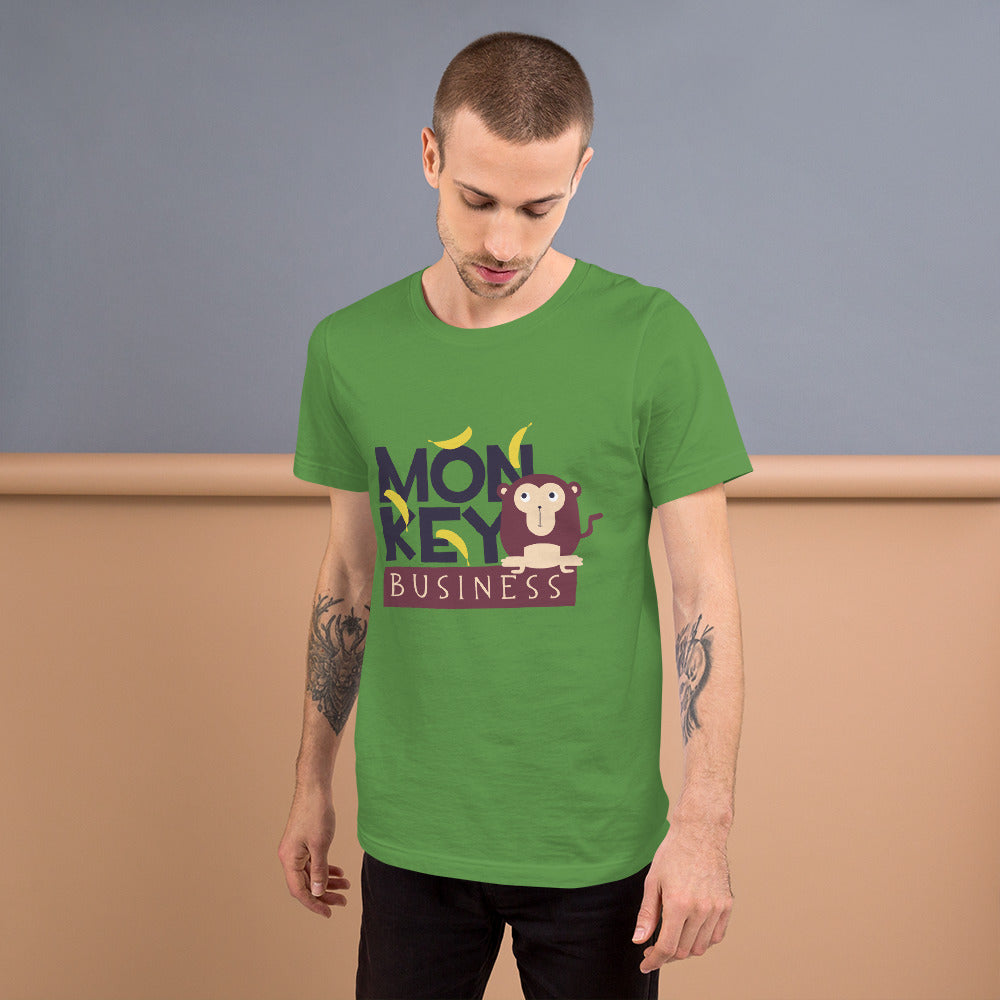 Monkey Business Short-Sleeve Unisex T-Shirt - Scattando Verkleedhuis