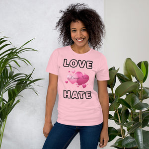 Love is stronger... Short-Sleeve Unisex T-Shirt - Scattando Verkleedhuis