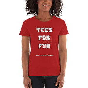 Tees For Fun Promoshirt Women's short sleeve t-shirt - Scattando Verkleedhuis