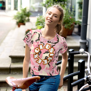 Exclusive Crop Tee - Scattando Verkleedhuis