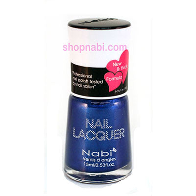 Nabi I Nail Polish no.107 Navy Blue