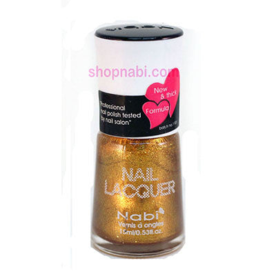 Nabi I Nail Polish no.117 Shinning Gold