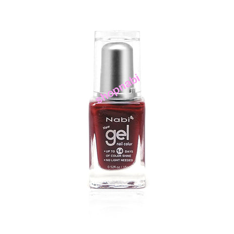 Nabi Gel Nail Polish No.11 Choco Brown