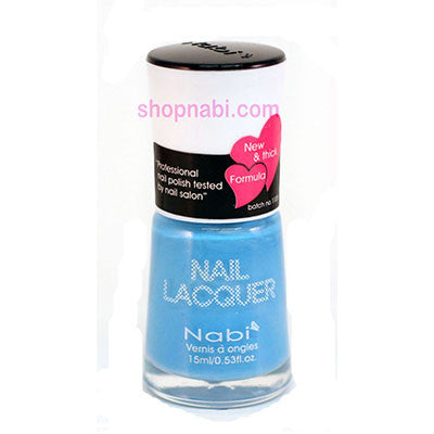 Nabi I Nail Polish no.121 Pastel Blue
