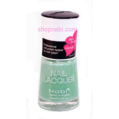 Nabi I Nail Polish no.122 Pastel Misty