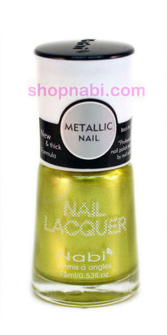 Nabi Metallic Nail Polish no.129 Metallic Punky