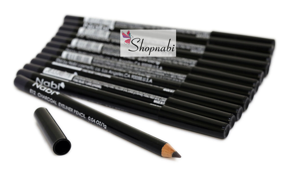 Nabi Eyebrow and Eyeliner Pencil no.12 Charcoal