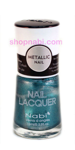 Nabi Metallic Nail Polish no.131 Metallic L. Blue