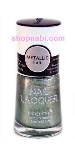 Nabi Metallic Nail Polish no.136 Metallic Saphire