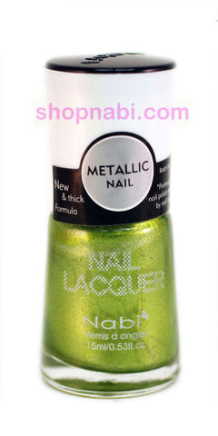 Nabi Metallic Nail Polish no.138 Metallic Emerald