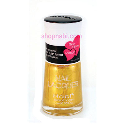 Nabi I Nail Polish no.13 Gold