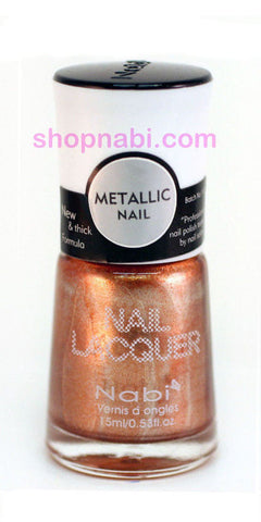 Nabi Metallic Nail Polish no.140 Metallic Bronze