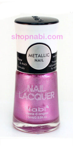Nabi Metallic Nail Polish no.141 Metallic Lilac II
