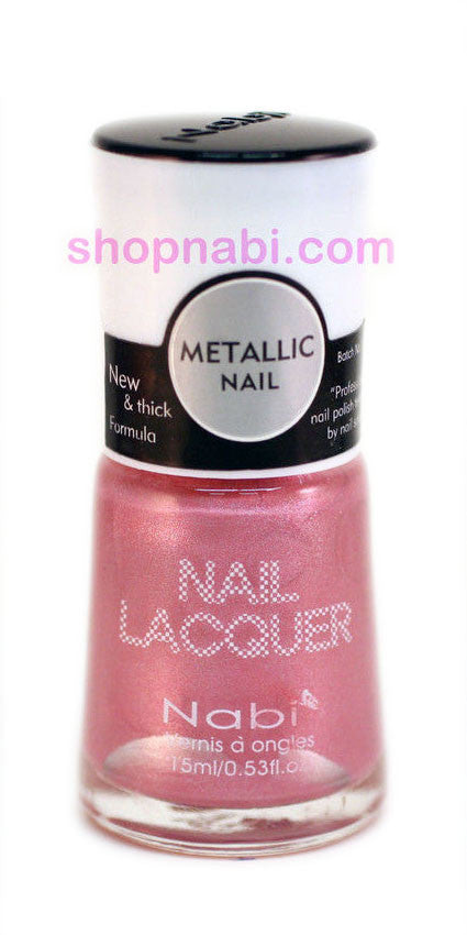 Nabi Metallic Nail Polish no.144 Metallic Champagne