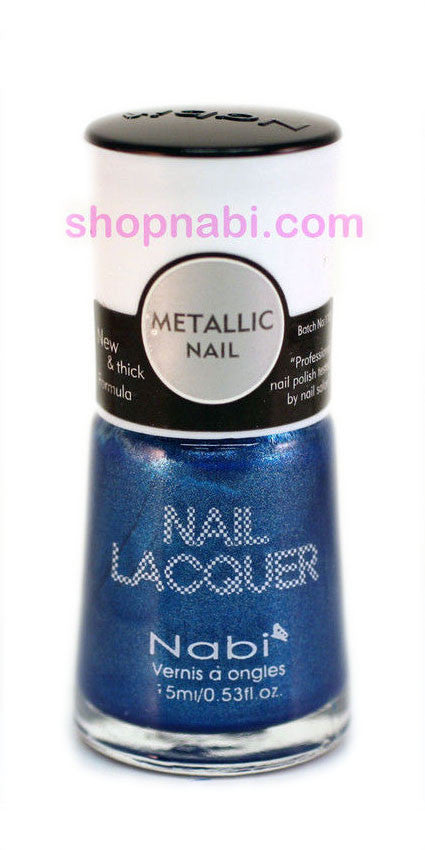 Nabi Metallic Nail Polish no.145 Metallic Sky Blue