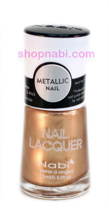 Nabi Metallic Nail Polish no.147 Metallic Cinnamon
