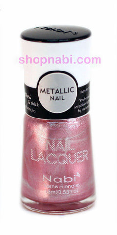Nabi Metallic Nail Polish no.153 Metallic  Cinnamon