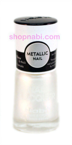 Nabi Metallic Nail Polish no.154 Metallic Dark Fuschia