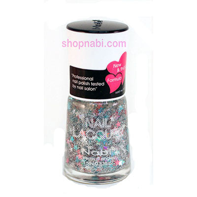 Nabi I Nail Polish no.157 Multi Star Glitter
