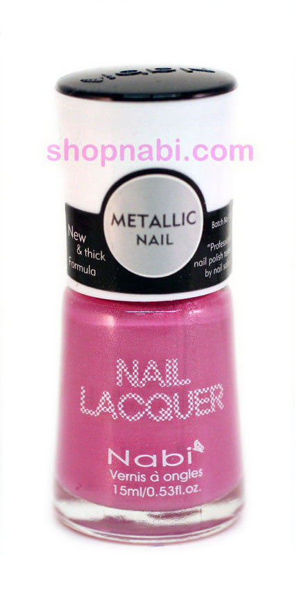 Nabi Metallic Nail Polish no.150 Metallic Lavender