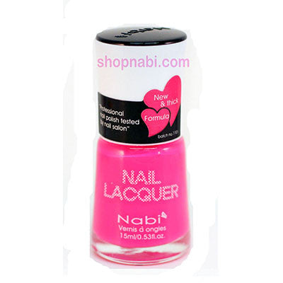 Nabi I Nail Polish no.175 Bright Pink