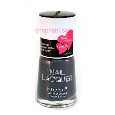 Nabi I Nail Polish no.178 Gray