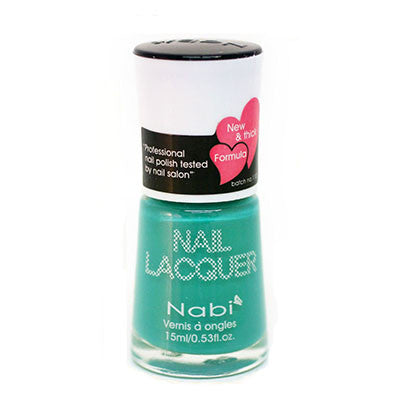 Nabi I Nail Polish no.195 Bright Teal