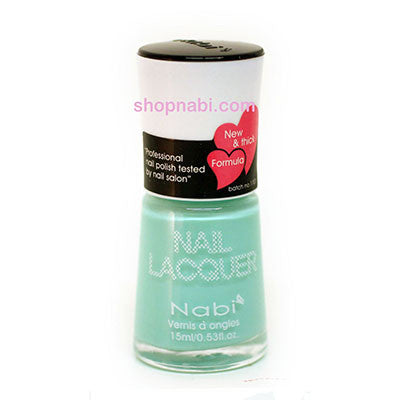 Nabi I Nail Polish no.199 Baby Teal