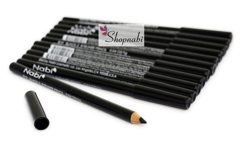 Nabi Eyebrow and Eyeliner Pencil no.19 Black 2