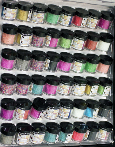 48pcs NABI Caviar Manicure Beads Set Nail Art