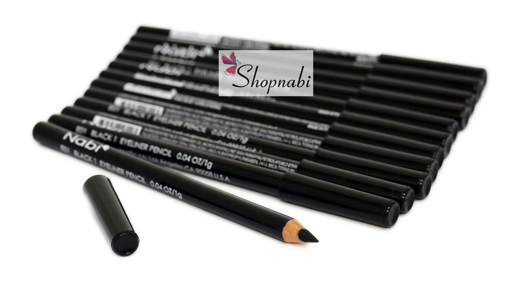 Nabi Eyebrow and Eyeliner Pencil no.1 Black 1