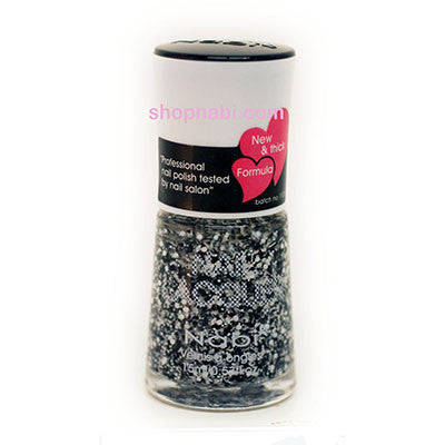 Nabi I Nail Polish no.201 Black Flake