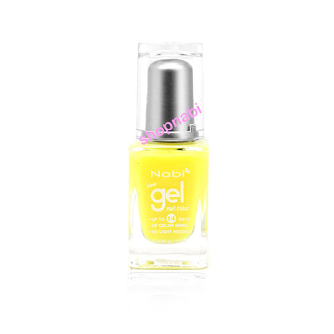 Nabi Gel Nail Polish No.20 Neon Funky Yellow