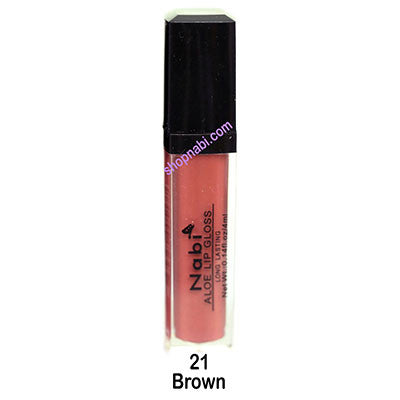 Nabi Lipgloss no.21 Brown