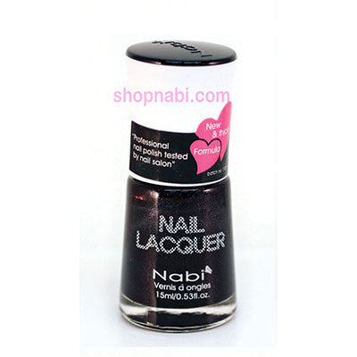 Nabi I Nail Polish no.23 Blackberry