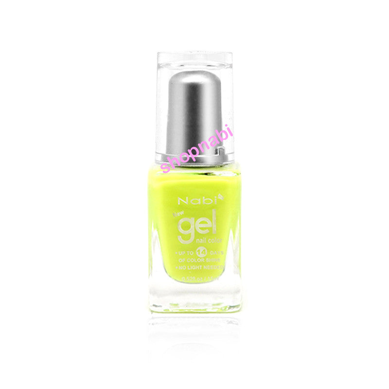 Nabi Gel Nail Polish No.23 Neon Green II