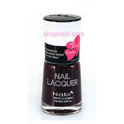 Nabi I Nail Polish no.24 Dark Plum