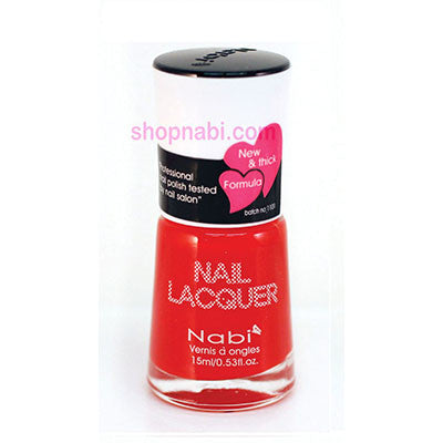 Nabi I Nail Polish no.27 Bright Red