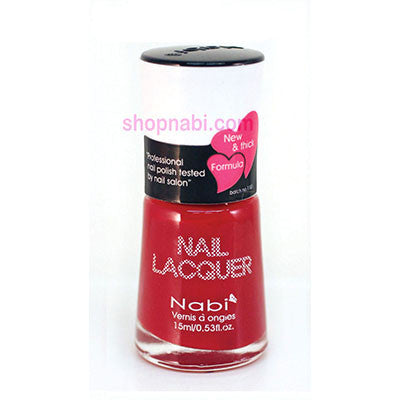 Nabi I Nail Polish no.28 Hot Red