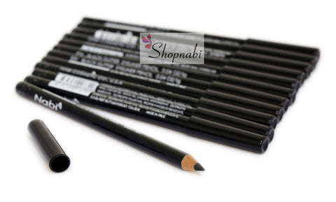 Nabi Eyebrow and Eyeliner Pencil no.31 Black Glitter