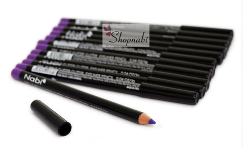 Nabi Eyebrow and Eyeliner Pencil no.32 Purple Glitter