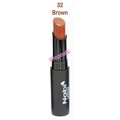 Nabi Round Lipstick no.32 Brown
