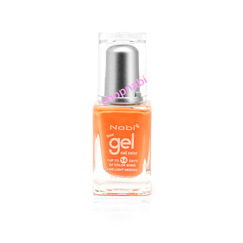 Nabi Gel Nail Polish No.40 Baby Orange