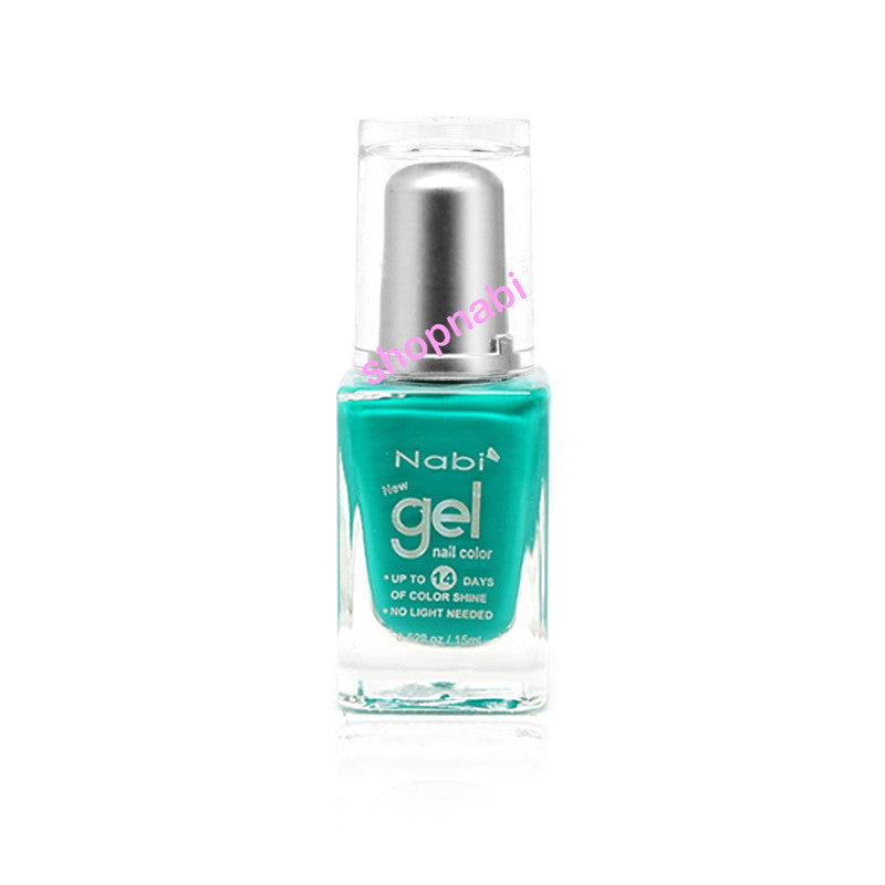 Nabi Gel Nail Polish No.48 Teal